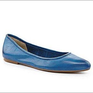 Frye Flats Womens Shoes Leather 7.5 Regina